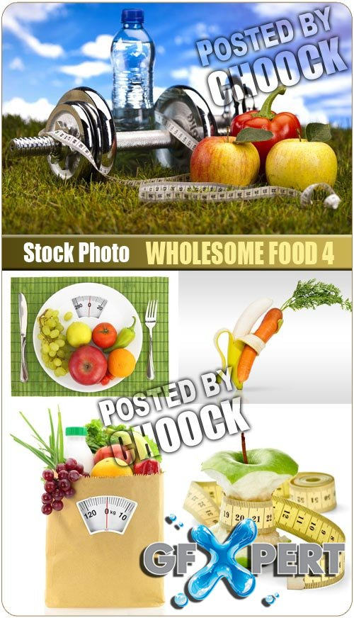 Wholesome food 4 - Stock Photo