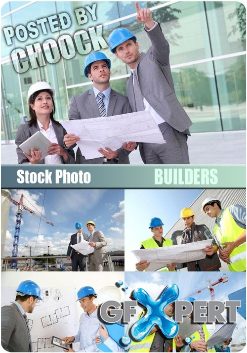 Builders - Stock Photo