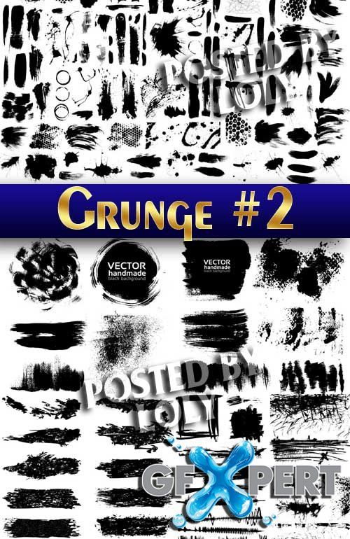 Grunge style #2 - Stock Vector