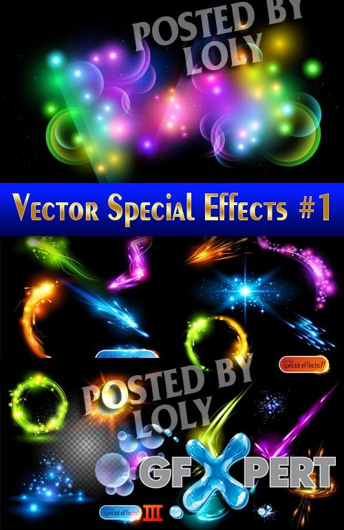 Effects vector #1 - Stock Vector