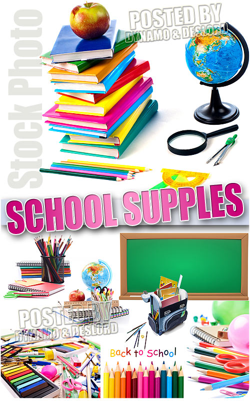 School supples #1 - UHQ Stock Photo