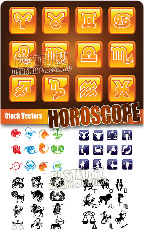 Horoscope - Stock Vectors