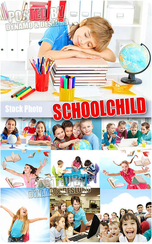Schoolchild #1 - UHQ Stock Photo