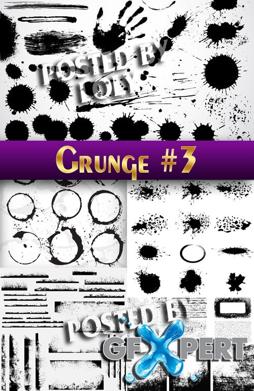 Grunge style #3 - Stock Vector