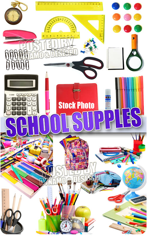 School supples #2 - UHQ Stock Photo