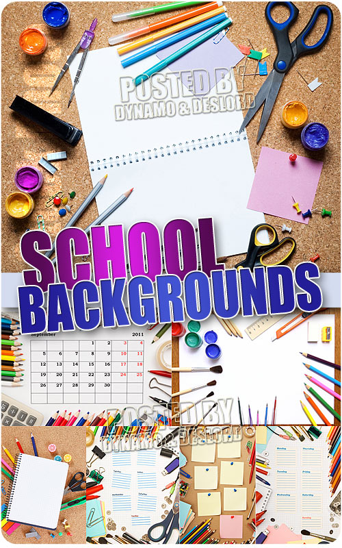 School Backgrounds - UHQ Stock Photo