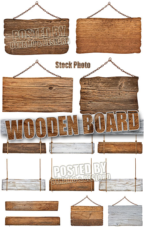 Wooden board - UHQ Stock Photo