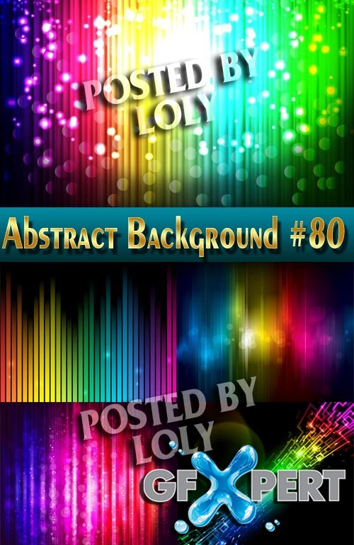 Vector Abstract Backgrounds #80 - Stock Vector