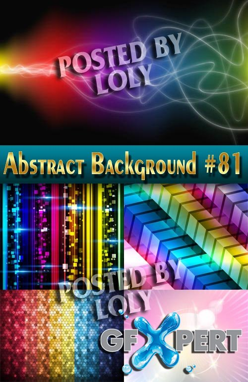Vector Abstract Backgrounds #81 - Stock Vector