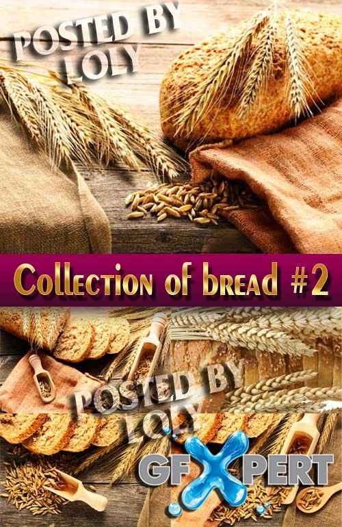 Food. Mega Collection. Bread and wheat #2 - Stock Photo