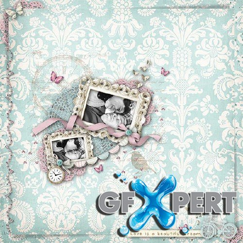 Scrap kit - A Beautiful Dream