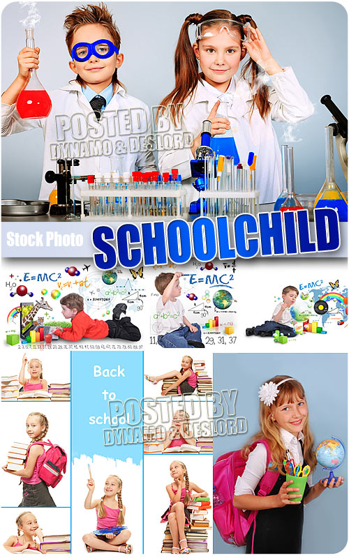 Schoolchild #2 - UHQ Stock Photo