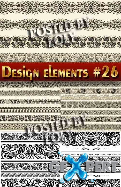 Design elements #26 - Stock Vector