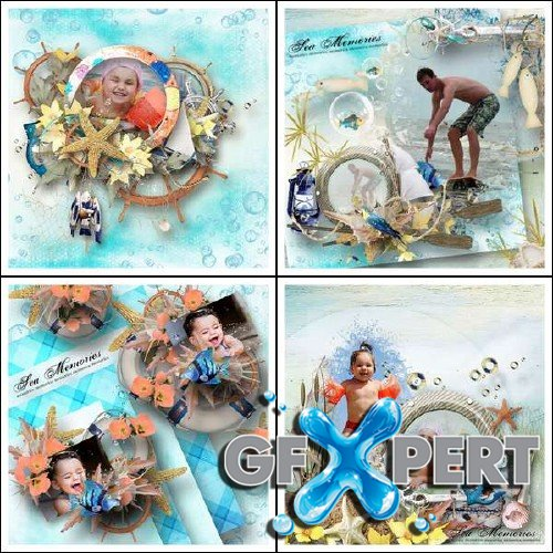 Digital scrap kit - Splash