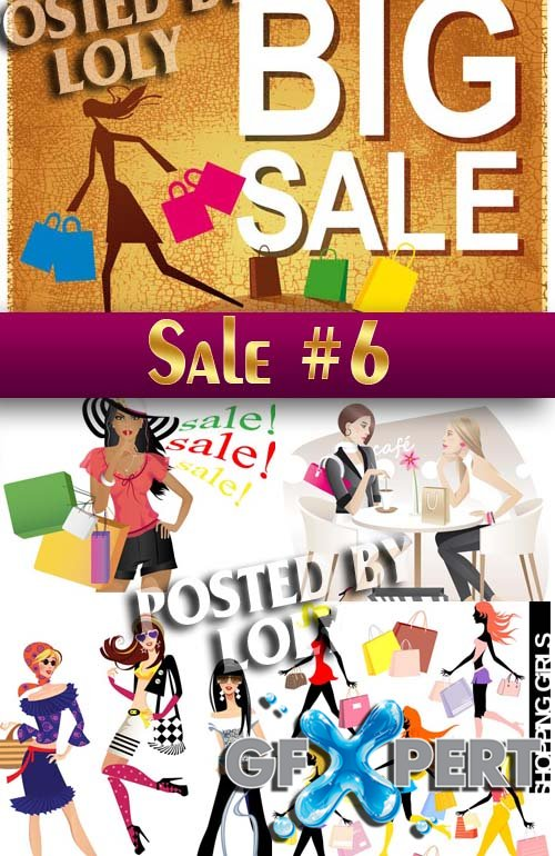 Big SALE #6 - Stock Vector