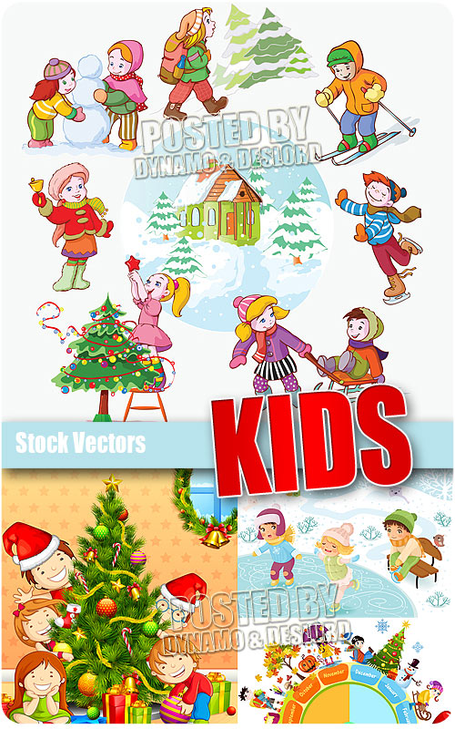 Kids - Stock Vectors