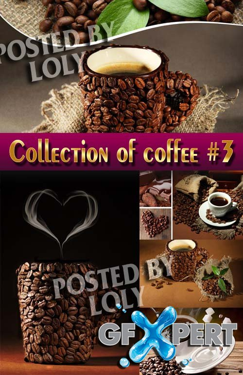 Food. Mega Collection. Coffee #3 - Stock Photo
