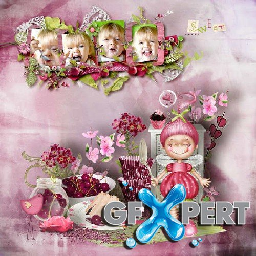 Scrap kit - For the love of