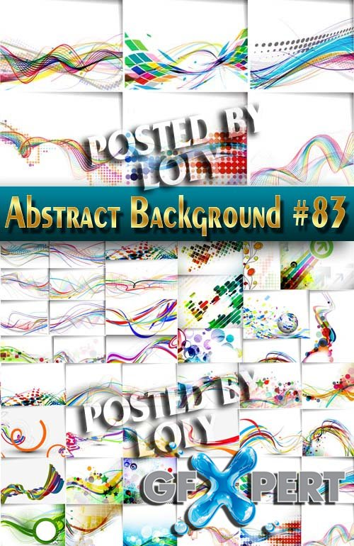 Vector Abstract Backgrounds #83 - Stock Vector