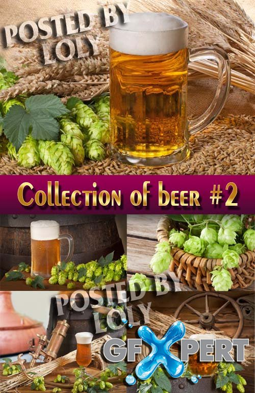 Drinks. Mega Collection. Beer #2 - Stock Photo