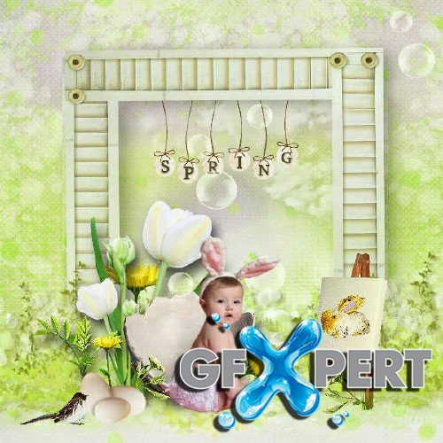 Scrapbooking set - Come to Easter