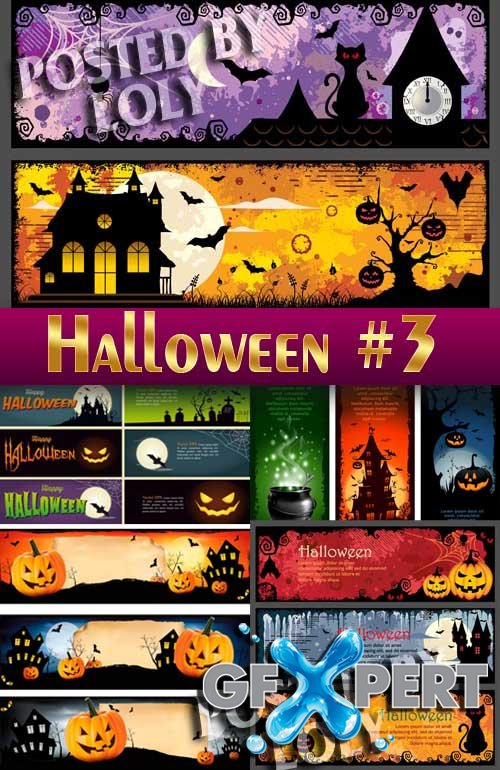 Halloween #3 - Stock Vector