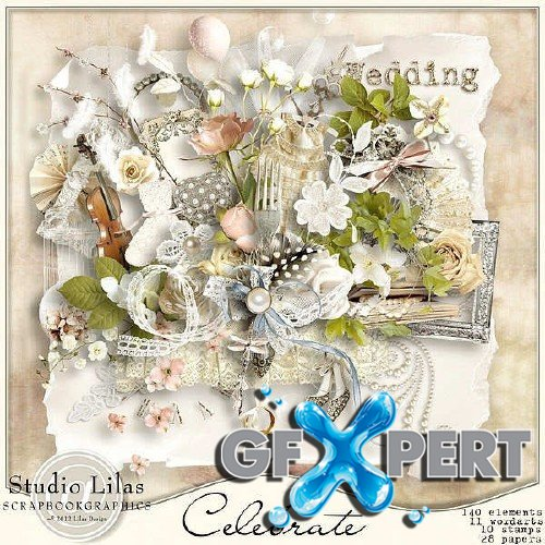 Scrapbooking kit - Celebrate