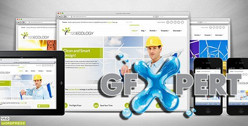 ThemeForest - 123Ecology v1.0.2 - Corporate & eCommerce WordPress Theme