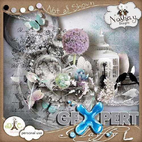 Digital scrapbooking set - Mayfly