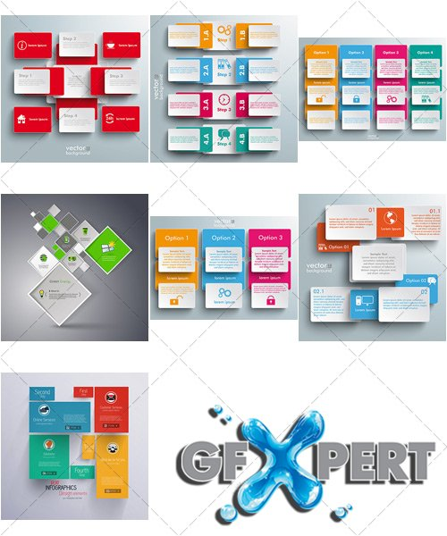 Infographics for Business - VectorImages