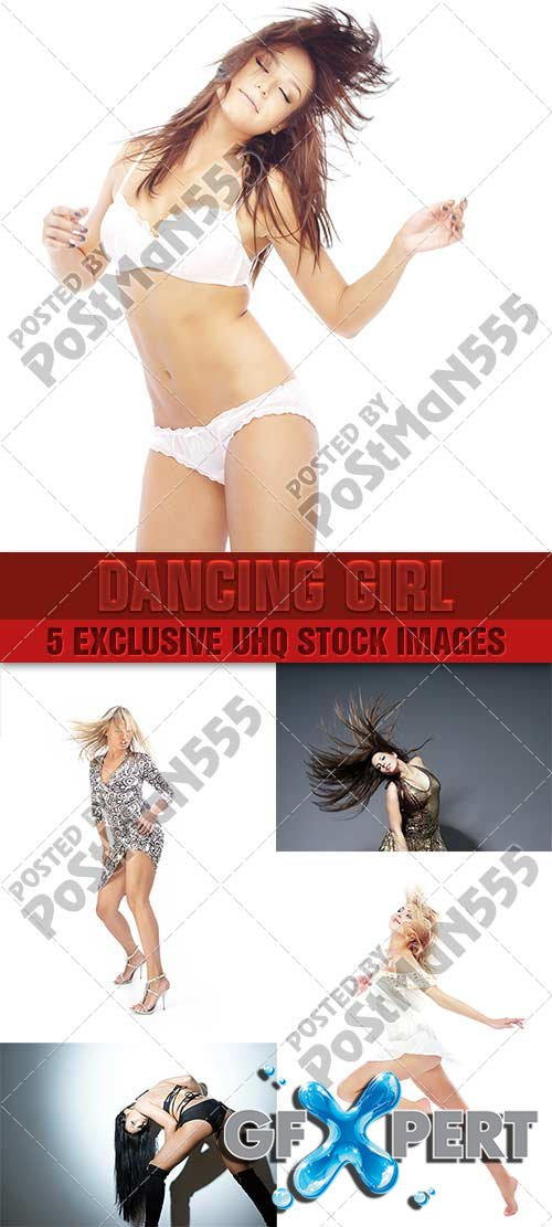 Dancing girl - PhotoStock