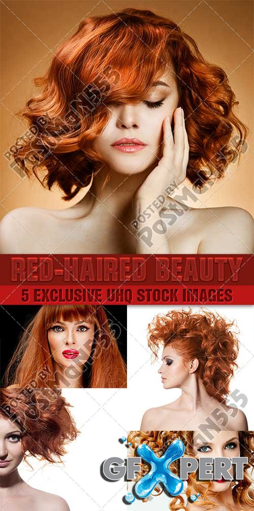 Beautiful girl with red hair - PhotoStock