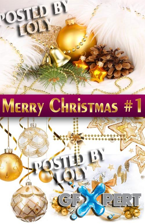 Merry Christmas Designs 2014 #1 - Stock Photo