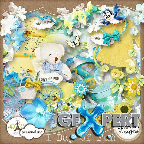 Scrap kit - One day of fun