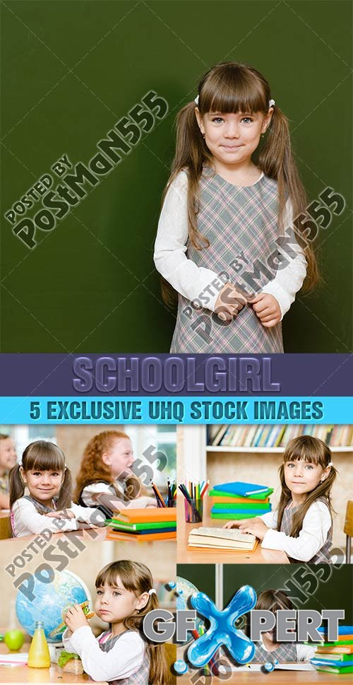Schoolgirl, younger classes - PhotoStock