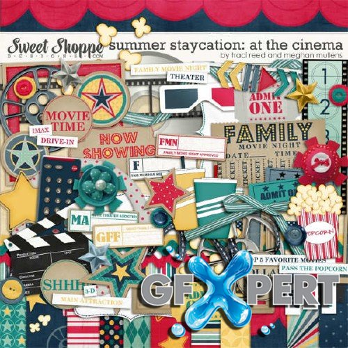 Scrapbooking kits - Summer Staycation Collection
