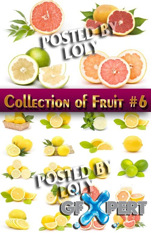 Food. Mega Collection. Fruit #6 - Stock Photo