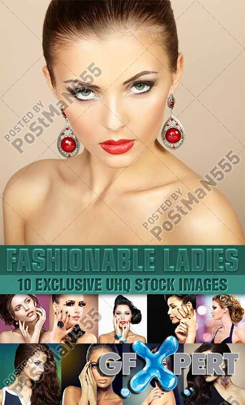 Fashion beauty, beautiful hairstyles - PhotoStock
