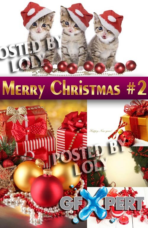 Merry Christmas Designs 2014 #2 - Stock Photo