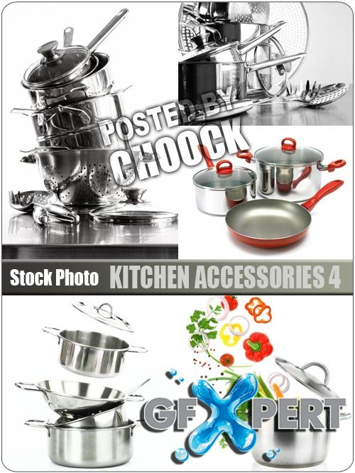 Kitchen accessories 4 - Stock Photo