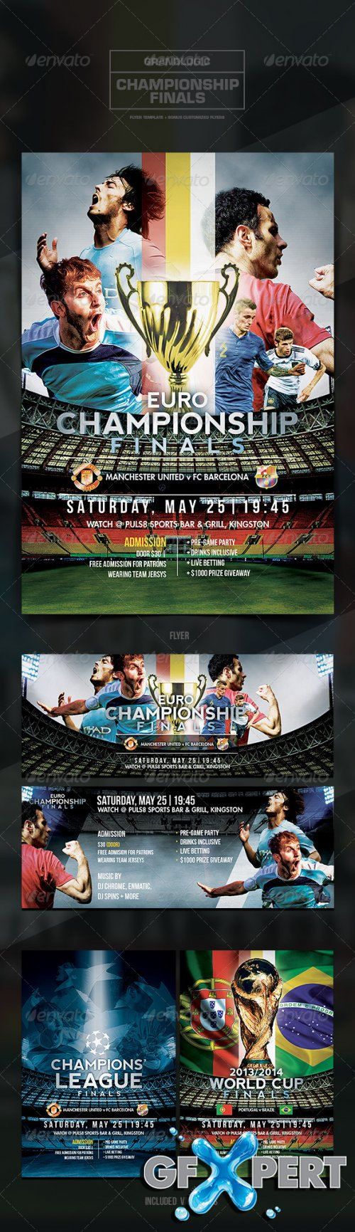 GraphicRiver - Soccer Tournament Flyer