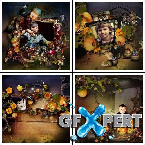 Scrap kit - Could be Halloween