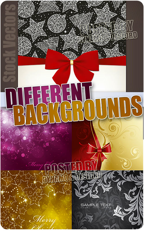 Different Backgrounds - Stock Vectors