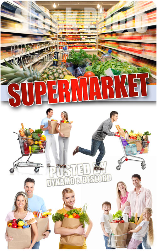 Supermarket - UHQ Stock Photo