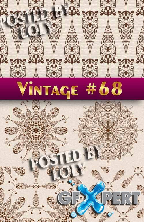 Vintage backgrounds #68 - Stock Vector