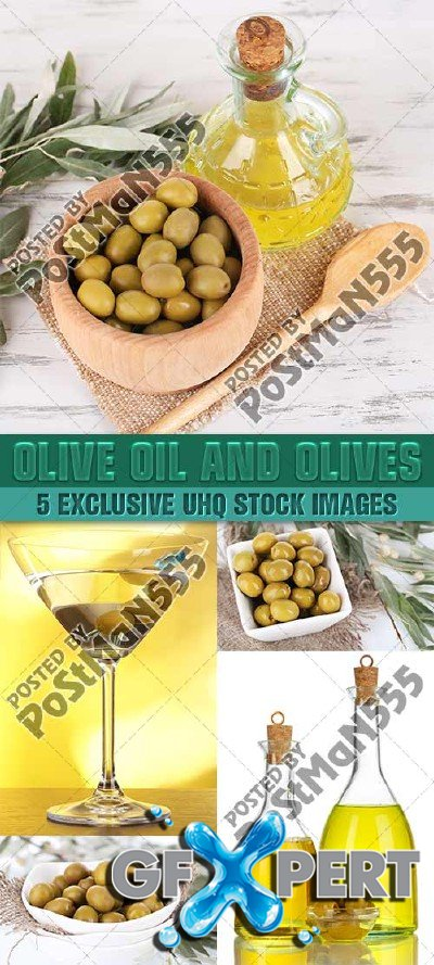 Olive oil and olives - PhotoStock