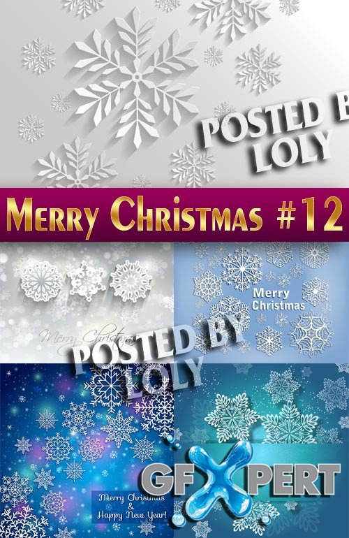 Merry Christmas Designs 2014 #12 - Stock Vector