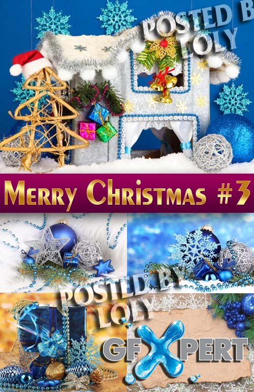 Merry Christmas Designs 2014 #3 - Stock Photo