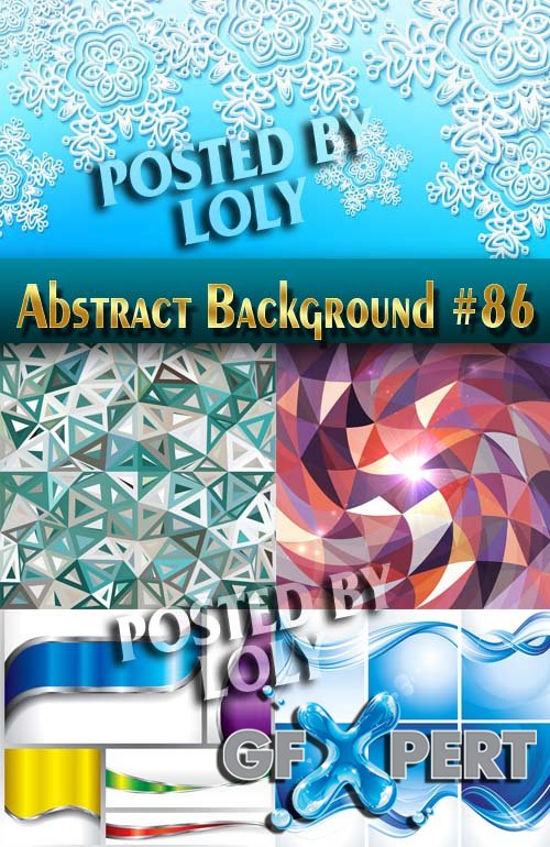 Vector Abstract Backgrounds #86 - Stock Vector