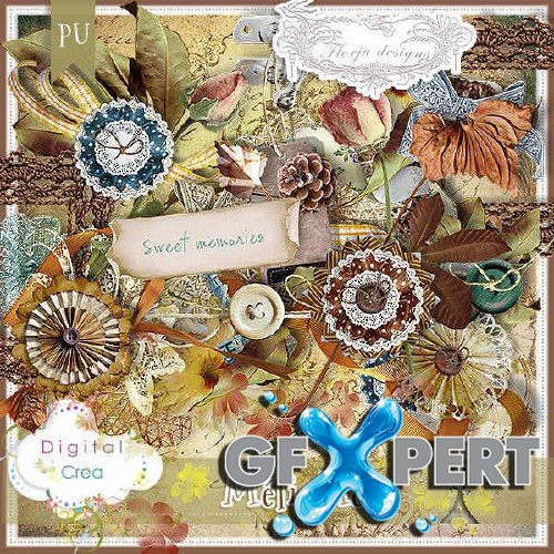 Scrapbooking kit - Meli Melo